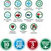 Césped Artificial, lista iconos 10 años