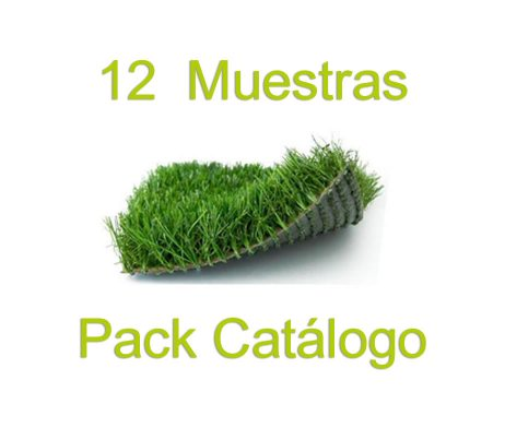 Pack muestras de césped artificial